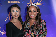2019, May 21. Vue Cinema, Hilversum, the Netherlands. Sheling Kamkes and Denise Venghaus at the dutch premiere of Aladdin.