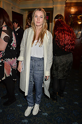 IMMY WATERHOUSE at the opening night of People, Places & Things at The Wyndham's Theatre, Charing Cross Road, London on 23rd March 2016,