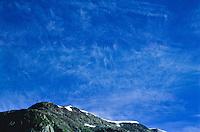 Cirrus fibratus clouds. Kenai Peninsula, Alaska.
