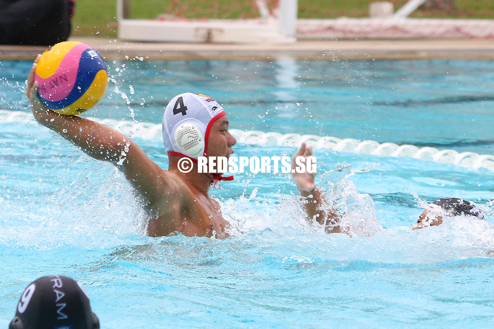 Caleb Chern (ACSI #4) scoring a goal in the first quarter of the game. (Photo © Chua Kai Yun/Red Sports)