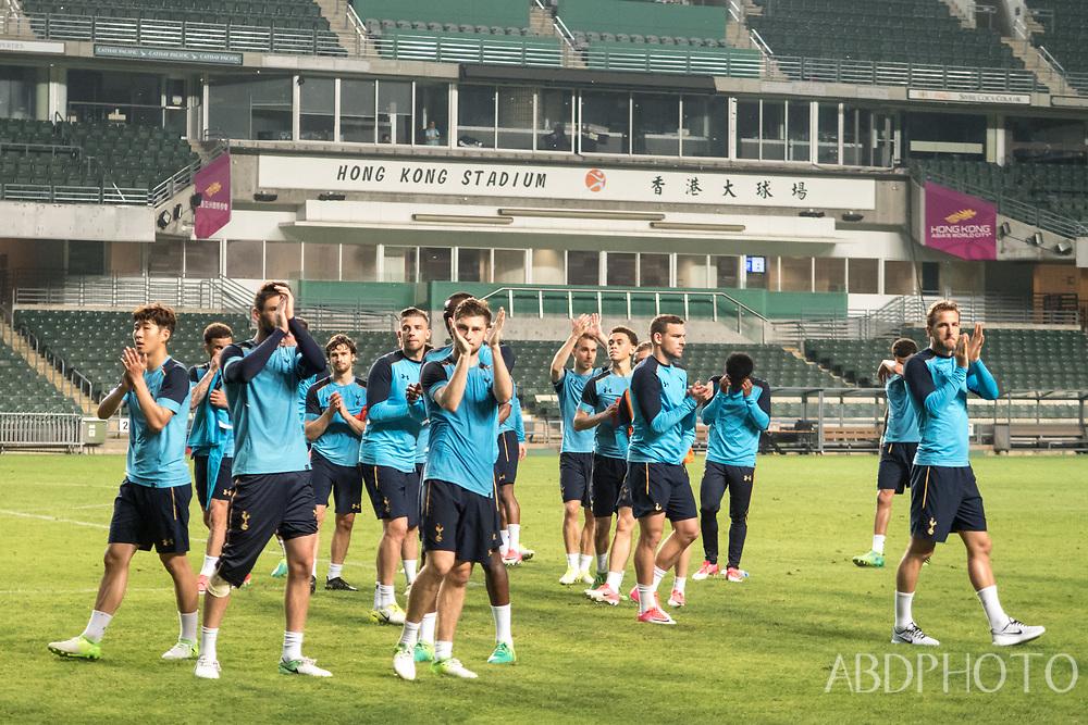Tottenham Hotspur Football Club play in Hong Kong Spurs