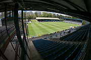 General view of the Shay stadium before the Vanarama National League North match between FC Halifax Town and Salford City at the Shay, Halifax, United Kingdom on 7 May 2017. Photo by Mark P Doherty.
