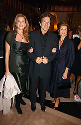 Left to right, PAMELA WEST, actor MICHAEL BRANDON and FABIEN GAINNE at a party to ceebrate the bublication of 'The Ravenscar Dynasty' by Barbara Taylor Bradford hld at the newly opened Mousaieff Store, 172 New Bond Street, London on 28th September 2006.<br /><br />NON EXCLUSIVE - WORLD RIGHTS