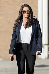 Katie Price arrives at Bexley Magistrates' Court for her drink driving court case.