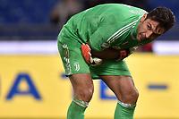 Gianluigi Buffon Juventus infortunio braccio. Arm injured <br /> Roma 03-03-2018 Stadio Olimpico Football Calcio Serie A 2017/2018 Lazio - Juventus Foto Andrea Staccioli / Insidefoto