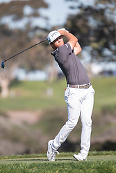 January 27, 2019 - San Diego, CA, U.S. - SAN DIEGO, CA - JANUARY 27: Talor Gooch during the final round of the Farmers Insurance Open at Torrey Pines Golf Club on January 27, 2019 in San Diego, California. (Photo by Alan Smith/Icon Sportswire) (Credit Image: © Alan Smith/Icon SMI via ZUMA Press)
