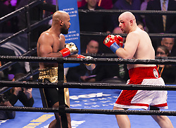 January 26, 2019 - New York, New York, United States - Adam Kownacki won against Gerald Washington their heavyweights fight by technical knockout at Barclays Center (Credit Image: © Lev Radin/Pacific Press via ZUMA Wire)
