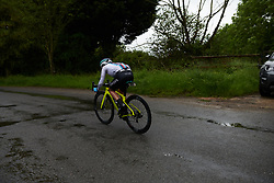 Abby-Mae Parkinson (GBR) in a solo move during Stage 1 of 2019 OVO Women's Tour, a 157.6 km road race from Beccles to Stowmarket, United Kingdom on June 10, 2019. Photo by Sean Robinson/velofocus.com