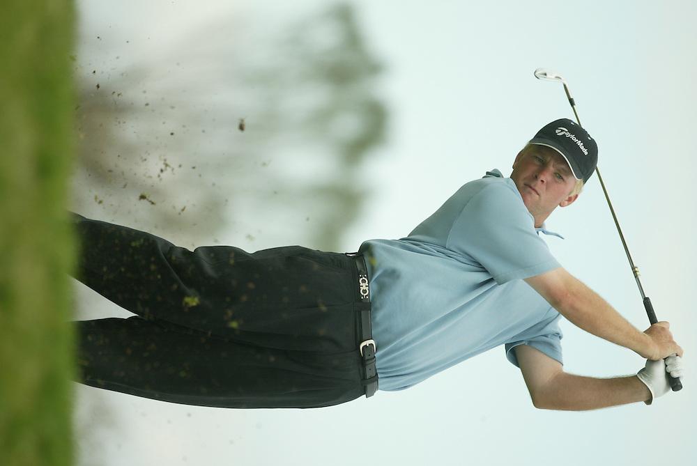 Patrick Damron..2003 PGA Tour Qualifying, Final Stage.Third Round.Orange County National GC.Orlando, FL.Friday, December 5, 2003..Photograph by Darren Carroll..