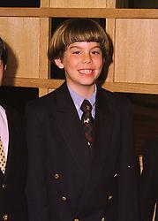 MR SEBASTIAN FLICK son of Donatella Flick at a reception in London on 2nd June 1998.MIA 2 MICO