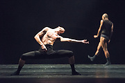 Sadler&rsquo;s Wells Presents the stars of Israel&rsquo;s thriving dance scene, Sharon Eyal and Gai Behar with the UK premiere of their company L-E-V&rsquo;s latest work, OCD LOVE<br /> <br /> In collaboration with sound artist Ori Lichtik<br /> <br /> Performed to deep, pulsing beats and tribal grooves the music for OCD LOVE, and all the work Lichtik has created with the company, is produced alongside and throughout the choreographic process, reflecting the dancers&rsquo; movements. In turn the choreography is inspired by the tone and pace of the percussive sounds and rhythms.