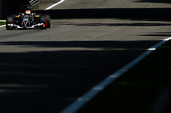 06.09.2014, Autodromo di Monza, Monza, ITA, FIA, Formel 1, Grand Prix von Italien, Qualifying, im Bild Adrian Sutil (GER) Sauber C33. // during the Qualifying of Italian Formula One Grand Prix at the Autodromo di Monza in Monza, Italy on 2014/09/06. EXPA Pictures © 2014, PhotoCredit: EXPA/ Sutton Images/ Lundin<br /> <br /> *****ATTENTION - for AUT, SLO, CRO, SRB, BIH, MAZ only*****