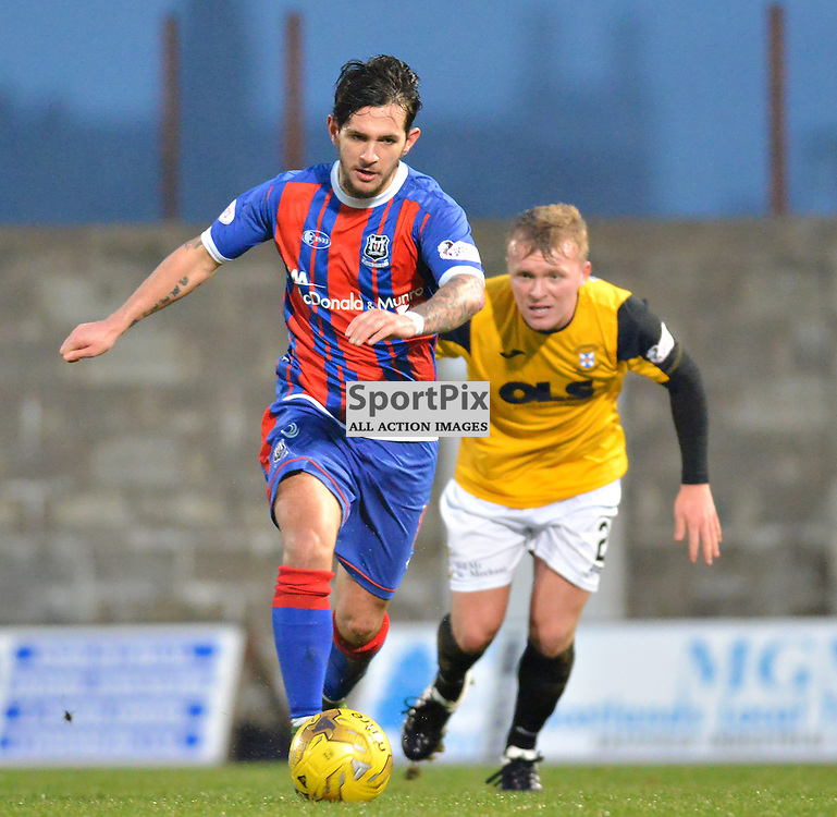 Away - Dylan Easton of Elgin is away from his East Fife marker.....(c) BILLY WHITE | SportPix.org.uk