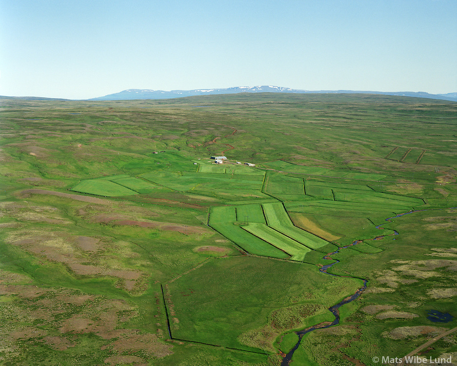 Sólheimar séð til austurs, Dalabyggð áður Laxárdalshreppur. / Solheimar viewing east. Dalabyggd former Laxardalshreppur.