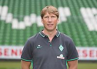 German Soccer Bundesliga 2015/16 - Photocall of Werder Bremen on 10 July 2015 in Bremen, Germany: team-doctor Philip Heitmann
