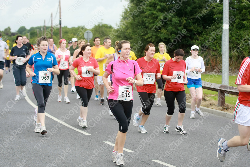Competitiors taking part in the Clare 10K race.<br /> Pictured Credit Brian Gavin Press 22
