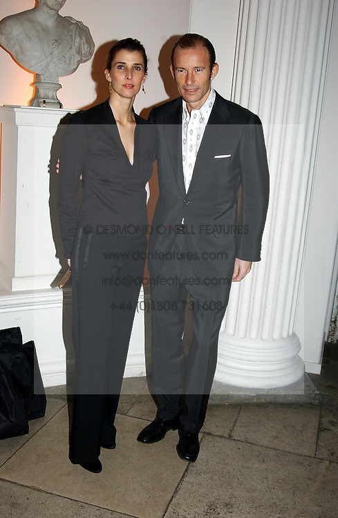 A party hosted by Mario Testino, Bianca Jagger and Kenneth Cole in collaboration with UNFPA and Marie Stopes International to celebrate the publication of Women to Woman: Positively Speaking - a book to raise awareness of women living with HIV/Aids, held at The Orangery, Kensington Palace, London on 2nd December 2004.<br />Picture shows:-TRH The PRINCE & PRINCESS OF PRESLAV.<br /><br />NON EXCLUSIVE - WORLD RIGHTS