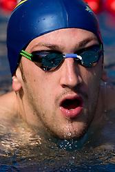 Jan Karel Petric of Triglav Kranj at 36 International swimming meeting City of Ljubljana Cup, on May 21, 2011 in Kodeljevo pool, Ljubljana, Slovenia. (Photo By Vid Ponikvar / Sportida.com)