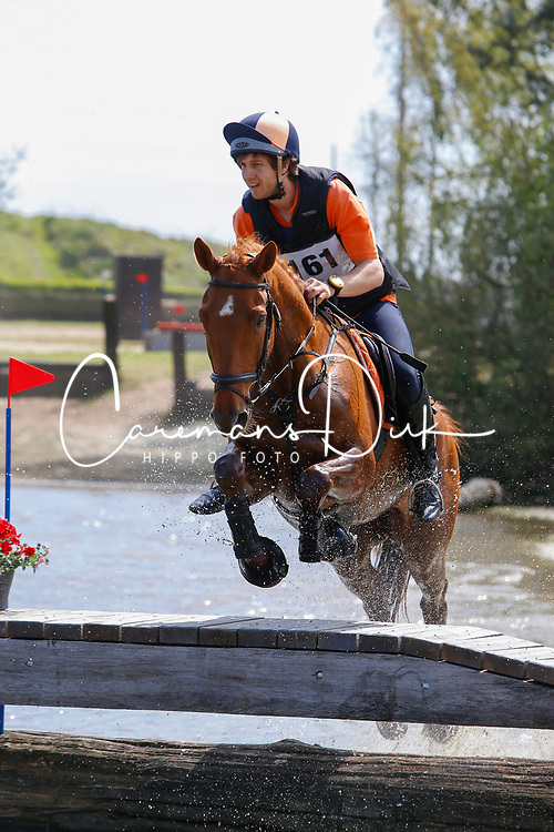 Naert Mathias, BeL, FIOCCO VAN'T SPOEL<br /> Nationale LRV-Eventingkampioenschap Minderhout 2017<br /> &copy; Hippo Foto - Kris Van Steen<br /> 30/04/17