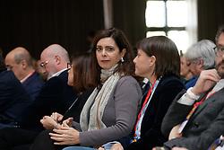 Foto LaPresse/Filippo Rubin<br /> 17/11/2019 Bologna (Italia)<br /> Cronaca Politica<br /> Assemblea Pd a Bologna - Eataly Fico Bologna<br /> Nella foto: Laura Boldrini e Debora Serracchiani<br /> <br /> Photo LaPresse/Filippo Rubin<br /> November 17th, 2019 Bologna (Italy)<br /> Politics<br /> PD meeting - Fico Eataly World Bologna <br /> In the pic: Laura Boldrini and Debora Serracchiani