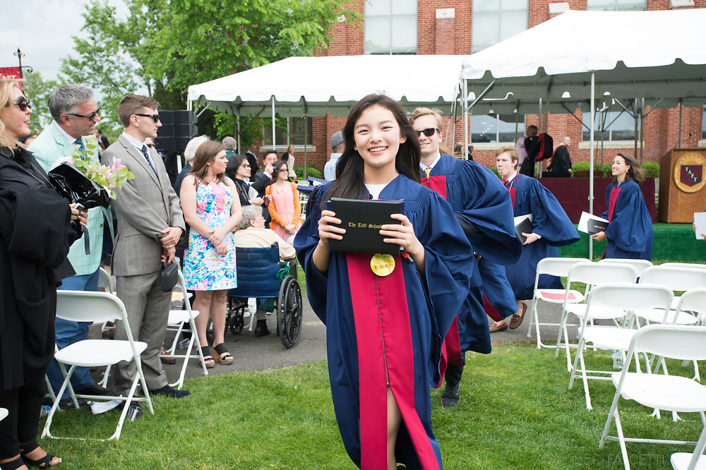 May 28, 2017: One Hundred and Twenty-Seventh Commencement.  (Robert Falcetti/Taft)