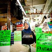 Rice seller, Kota Kinabalu