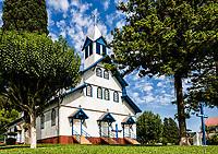 Igreja Matriz. São João do Oeste, Santa Catarina, Brasil. / Mother Church. Sao Joao do Oeste, Santa Catarina, Brazil.