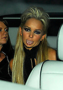 25.SEPTEMBER.2007. LONDON<br /> <br /> A VERY DRUNK JENNIFER ELLISON LEAVING EMBASSY CLUB AT 11.00AM WITH TWO FRIENDS AND IN THE CAR STARTED POKING OUT HER TOUNGE AND LAUGHING AT SOME TEXT MESSAGES ON HER PHONE AND THEN WENT ONTO FUNKY BUDDAH.<br /> <br /> BYLINE: EDBIMAGEARCHIVE.CO.UK<br /> <br /> *THIS IMAGE IS STRICTLY FOR UK NEWSPAPERS AND MAGAZINES ONLY*<br /> *FOR WORLD WIDE SALES AND WEB USE PLEASE CONTACT EDBIMAGEARCHIVE - 0208 954 5968*