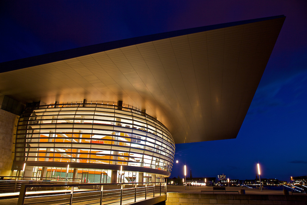 The Copenhagen Opera House (in Danish usually called Operaen) is the national opera house of Denmark, and among the most modern opera houses in the world. The Opera is located in Copenhagen just opposite the main castle Amalienborg at the shore of the harbor.
