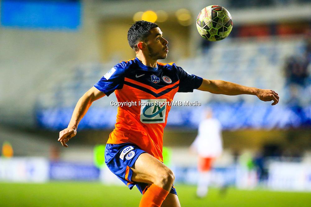 Morgan SANSON  - 05.01.2015 -  Montpellier / PSG - Coupe de France<br /> Photo :  Nicolas Guyonnet / Icon Sport