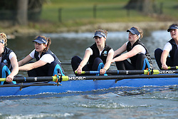 2012.02.25 Reading University Head 2012. The River Thames. Division 1. Headington School Boat Club W.Sen8+
