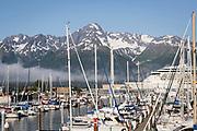 Seward harbor, Alaska, USA<br /> <br /> Photographer: Christina Sjogren<br /> <br /> Copyright 2018, All Rights Reserved