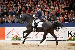 Cornelissen Adelinde, NED, Governor<br /> KWPN Stallionshow - 's Hertogenbosch 2018<br /> © Hippo Foto - Dirk Caremans<br /> 02/02/2018