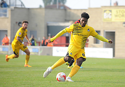 Ellis Harrison of Bristol Rovers scores a penalty - Mandatory byline: Neil Brookman/JMP - 07966 386802 - 03/10/2015 - FOOTBALL - Globe Arena - Morecambe, England - Morecambe FC v Bristol Rovers - Sky Bet League Two