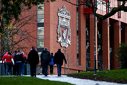 Liverpool fans arrive at Anfield for the Merseyside Derby against Everton - Mandatory by-line: Robbie Stephenson/JMP - 02/12/2018 - FOOTBALL - Anfield - Liverpool, England - Liverpool v Everton - Premier League