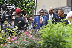 August 22, 2017 - Norristown, Pennsylvania, United States - US Actor Bill Cosby arrives with his new defense team, including attorney ThomasMesereau, for a pre-trial hearing at Montgomery County Courthouse, in Norristown, on August 22, 2017. (Credit Image: © Bastiaan Slabbers/NurPhoto via ZUMA Press)