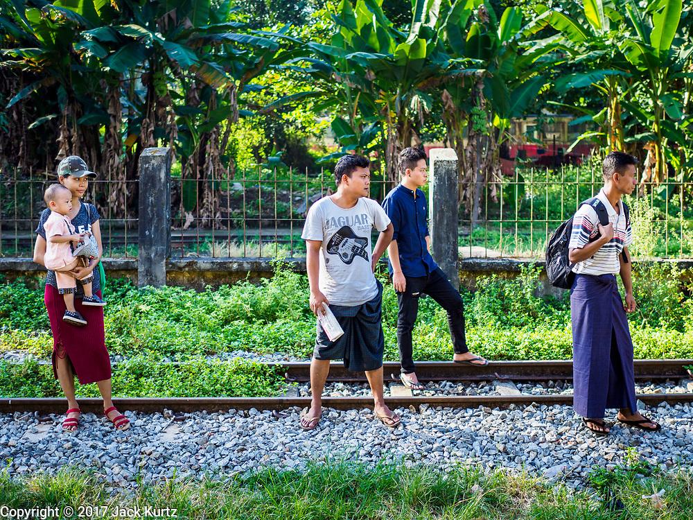 25 NOVEMBER 2017 - YANGON, MYANMAR:     PHOTO BY JACK KURTZ