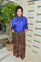 NANCY DELL'OLIO at a party hosted by Nancy Dell'Olio to celebrate the launch of Limonbello held at The Club at The Ivy, 9 West Street, London on 20th July 2016.