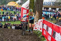 Nikki Harris (GBR), Women, Cyclo-cross World Cup Hoogerheide, The Netherlands, 25 January 2015, Photo by Thomas van Bracht / PelotonPhotos.com