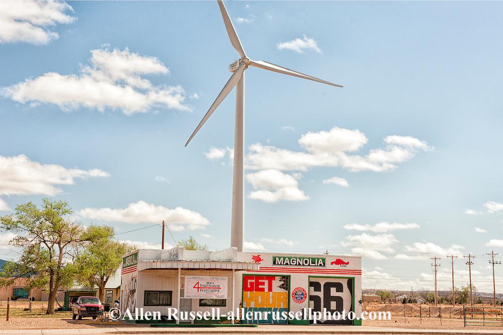 Wind Turbine Generator, Historic Route 66, Tucumcari, New Mexico