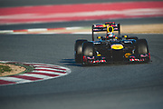 February 21, 2012: Formula One Testing, Circuit de Catalunya, Barcelona, Spain. Sebastian Vettel Red Bull-Renault RB8