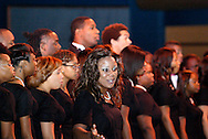 The Central State University Chorus performs during the 2011 Dayton Literary Peace Prize dinner and awards presentation at the Schuster Center in downtown Dayton, Sunday, November 13, 2011..