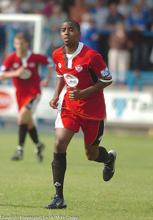 MICHAEL MALCOLM, Kettering Town New Signing making his Debut at Stalybridge, Stalybridge Celtic - Kettering Town, Blue Square Conference North 11/8/2007