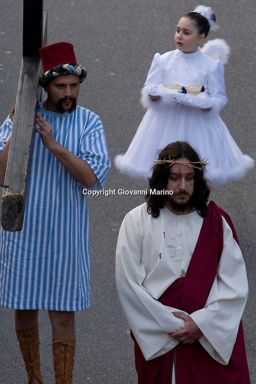 Barile (PZ),Basilicata, Italy - At Easter time, the cultural heritage of Barile is enriched by the representation of the ?Via Crucis?, with its characteristic scenes and costumes, which give it a strong folk character.