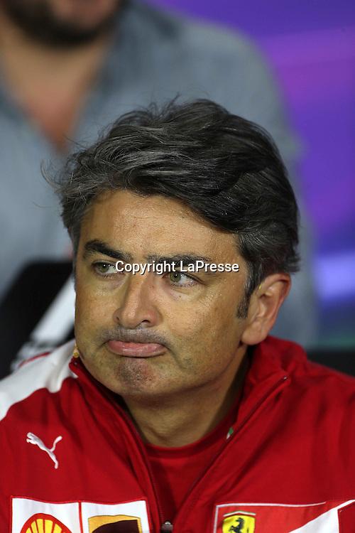 &copy; Photo4 / LaPresse<br /> 05/09/2014 Monza, Italy<br /> Sport <br /> Grand Prix Formula One Italy 2014<br /> In the pic: Marco Mattiacci (ITA) Team Principal, Scuderia Ferrari