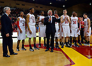 NCAA Men's Basketball: Duggar Baucom wins 117th game, becomes winning coach in VMI basketball history, as VMI defeats Longwood 94-80 in season finale.