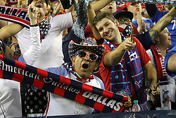 September 11, 2018 - Nashville, TN, U.S. - NASHVILLE, TN - SEPTEMBER 11: USA fans after the game between the United States National team and the Mexico National team on September 11, 2018 at Nissan Stadium in Nashville, Tennessee. (Photo by Michael Wade/Icon Sportswire) (Credit Image: © Michael Wade/Icon SMI via ZUMA Press)