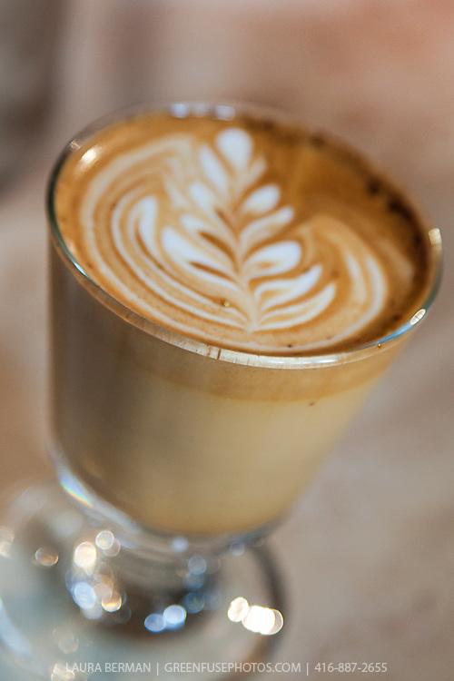 "Crema Coffee Co 's ""Tiramisu Coffee"" at FoodShare Toronto's Recipe for Change, February 28,  2013"