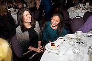 Daniella Issa Helayel; Rachael Barrett; , Liberatum 10th Anniversary dinner in honour of Sir Peter Blake. Hosted by Pable Ganguli and Ella Krasner. The Corinthia Hotel, Whitehall. London. 23 November 2011.