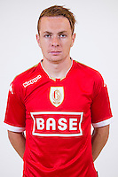 Standard's Adrien Trebel pictured during the 2015-2016 season photo shoot of Belgian first league soccer team Standard de Liege, Monday 13 July 2015 in Liege.